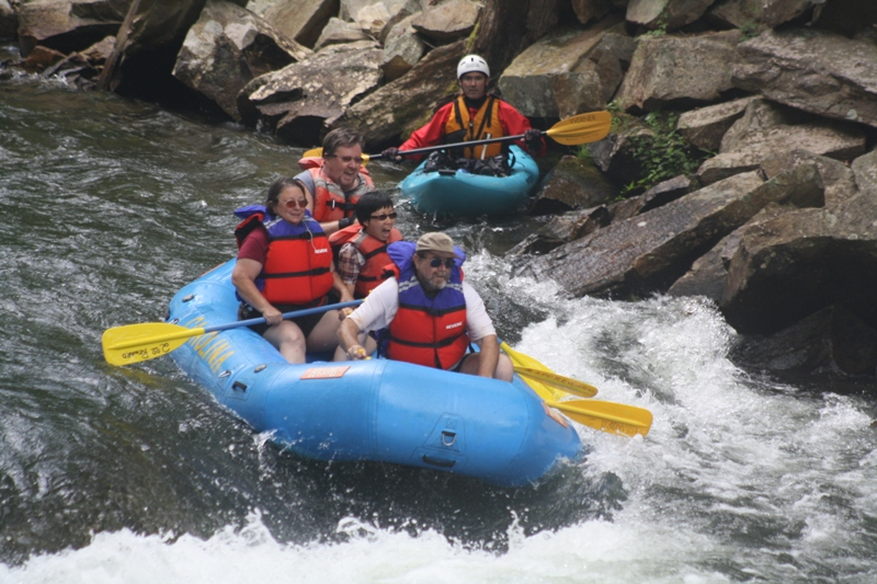 Nantahala River, NC White Water Rafting